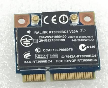 Ralink RT3090BC4 Half Mini PCI-e  Bluetooth4.0  Wirsless  WLAN  Card SPS:602992-001 For HP CQ42 CQ62 4320S 4420S 4720S