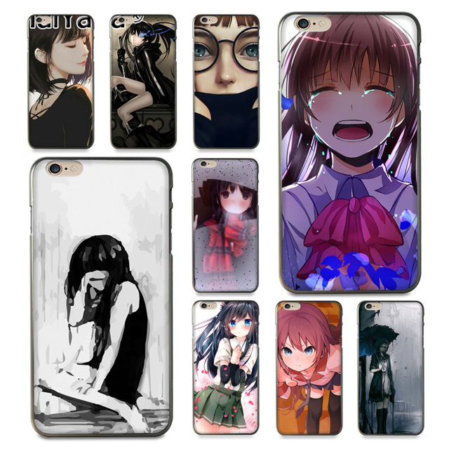 coque iphone 8 sad girl