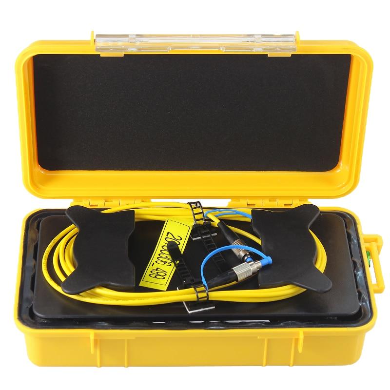 1 км FC/UPC одиночный режим 9/125um волокно кольца 1310/1550nm OTDR кабель запуска коробка