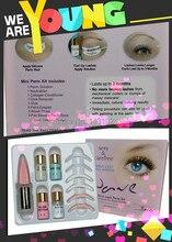 Eyepads Mini Eyelash perm lotion Eyelash Perm Super Wave Lash Perm Kit Eyelash Wave Lotion Last up to 3 Months,Permanent Lotion cicabio lotion