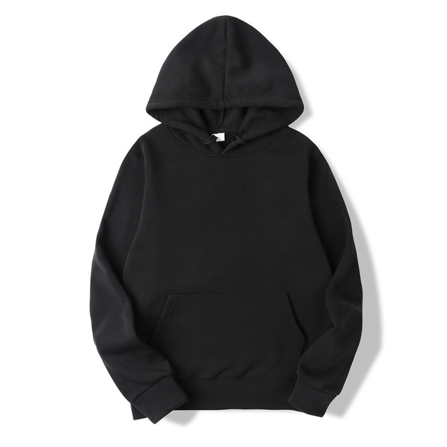 Fashion Solid Color Hoodies 4