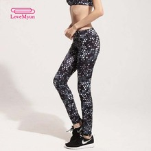 Alta calidad 2016 nuevas mujeres deportes pantalones de jogging gym mallas de ejercicio de fitness femenino yoga sportwear pantalones leggings