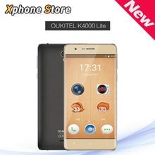 Oukitel K4000 Pro/K4000 Lite RAM 2 GB ROM 16 GB 5.0 pulgadas Pantalla QHD 4G LTE Smartphone Android 5.1 Dual SIM 4000 mAh de La Batería Del Teléfono