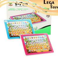 Juguetes educativos Para Niños de Computadoras tablet en idioma Ruso Y-cojín de aprendizaje para Niños ABC Y Pad Ruso juguete con Luz
