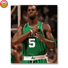 ae8c78beede Kevin Garnett American professional basketball player, power forward/center,  nicknamed Garnett Digital Oil Painting DIY Painting