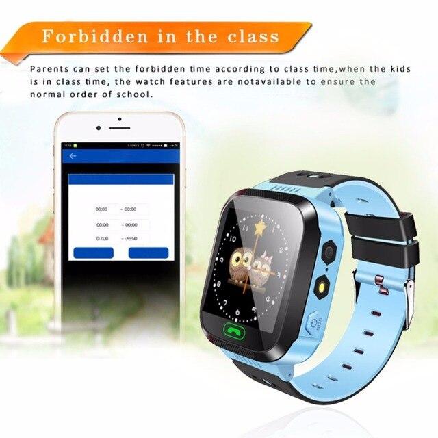 Smart Watch Kids Wristwatch Touch Screen GPRS Locator Tracker Anti-Lost Smartwatch Baby Watch With Remote Camera SIM Calls 3
