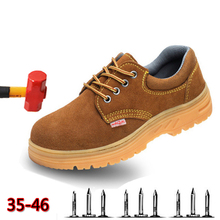 Mountaineering Breathable Mens Shoes Steel Baotou Wilderness Survival Sports Anti-piercing Tendon Safety