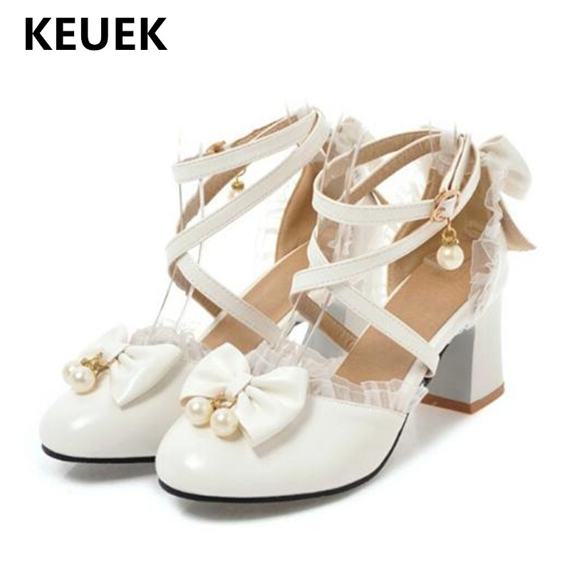 New Children Leather Shoes High-heeled Dress Shoes Girls Princess Performance Party moccasins Baby Student Shoes Kids 019
