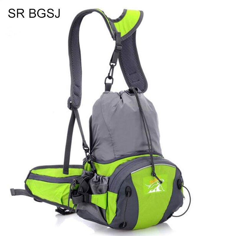 Free Shipping Multi Function Factory Price Men Women Couple Waterproof Belt Pack Fanny Bum Waist Bag