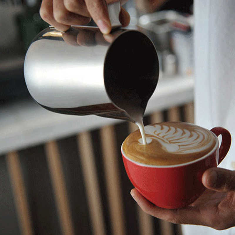 WHISM 150 350 600 мл кружка для взбивания молока капучино молочник для кофе бариста Ремесло Кофе Латте Кружка для взбивания молока
