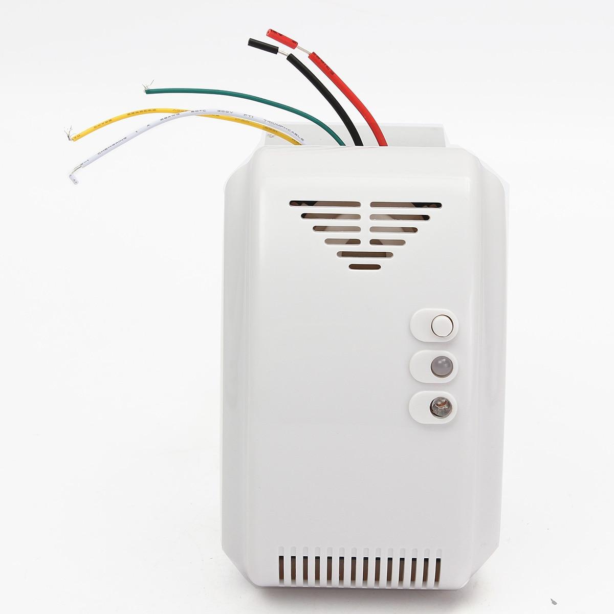 Le Gaz Butane pour 12 v détecteur de gaz capteur d'alarme propane butane gpl naturel