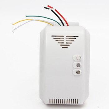 12 V Sensor De Alarme Detector De Gás Propano Butano GPL Naturais Motorhome Para Casa Sistema de Alarme de Segurança
