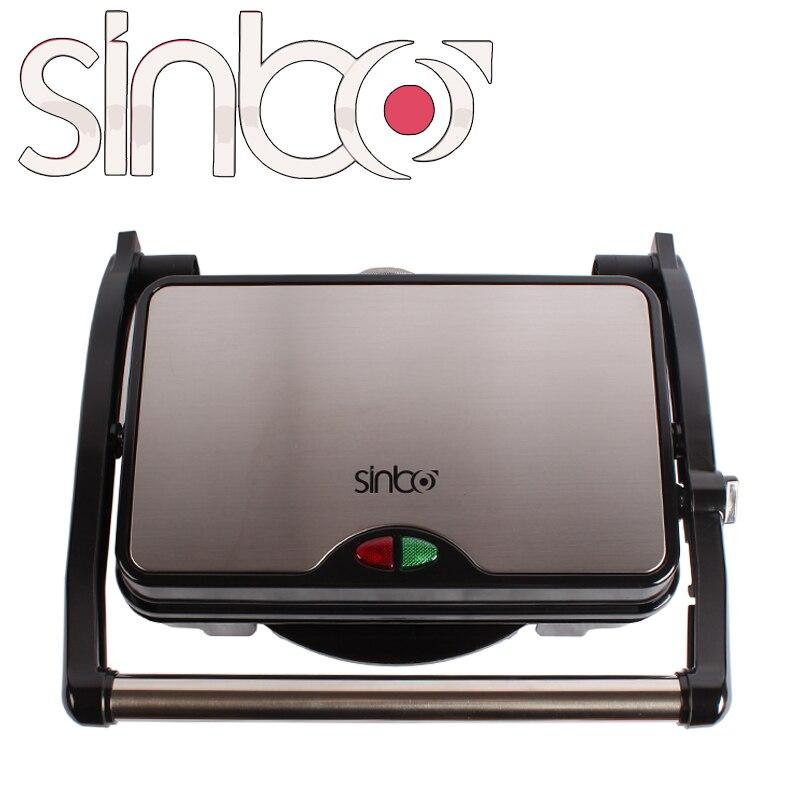 Гриль электрический двухсторонний гриллер Sinbo SHB-211
