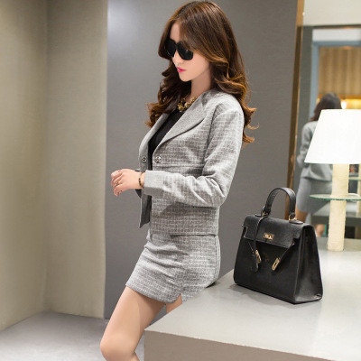 Women-Business-Suits-Formal-Office-Suits-Work-2015-Autumn-New-Blazer-Skirts-Two-Siuts-High-Quality (2)