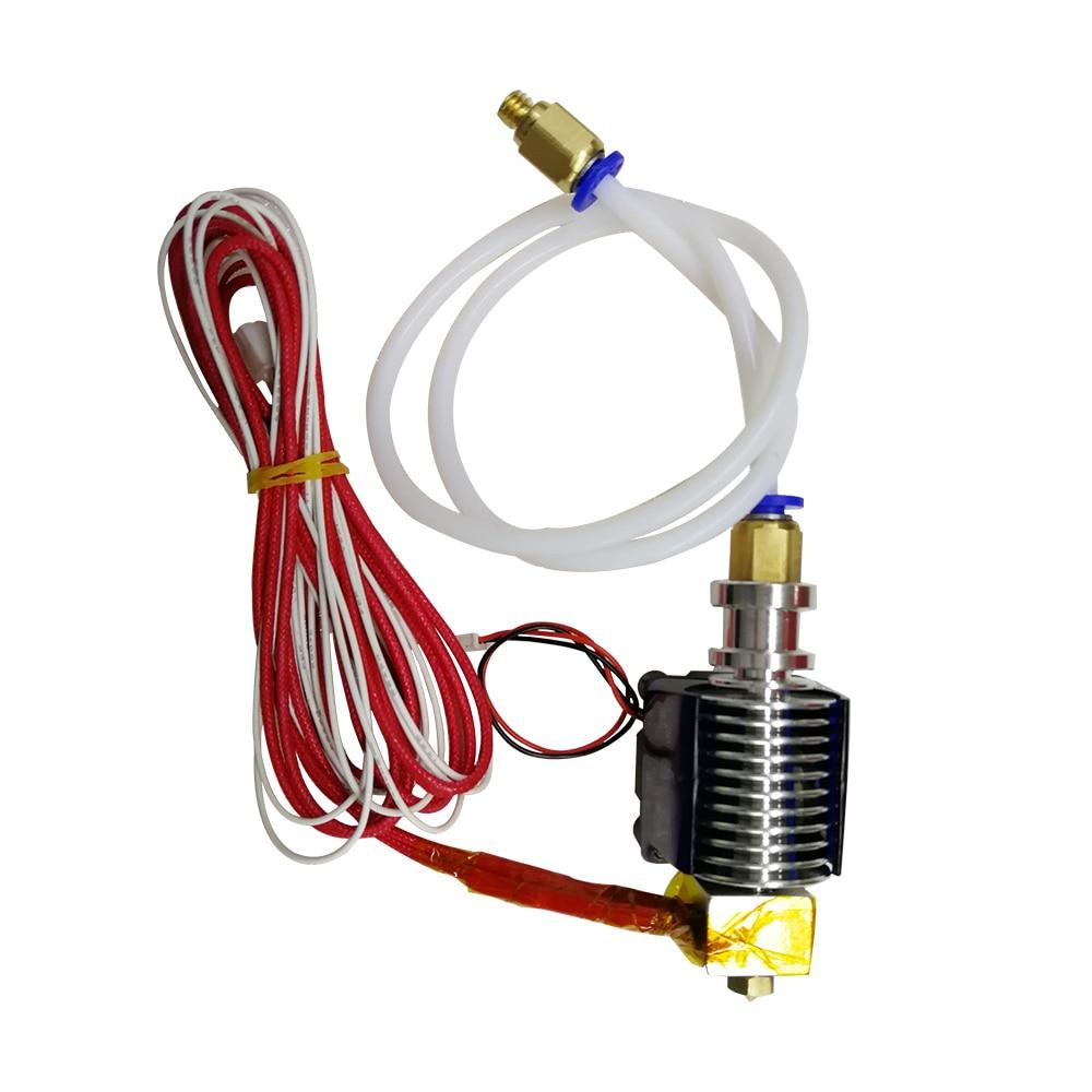 Tronxy 3d printer E3DV6 J-head with Teflon Heating tube Thermistor Support 1.75mm Filament