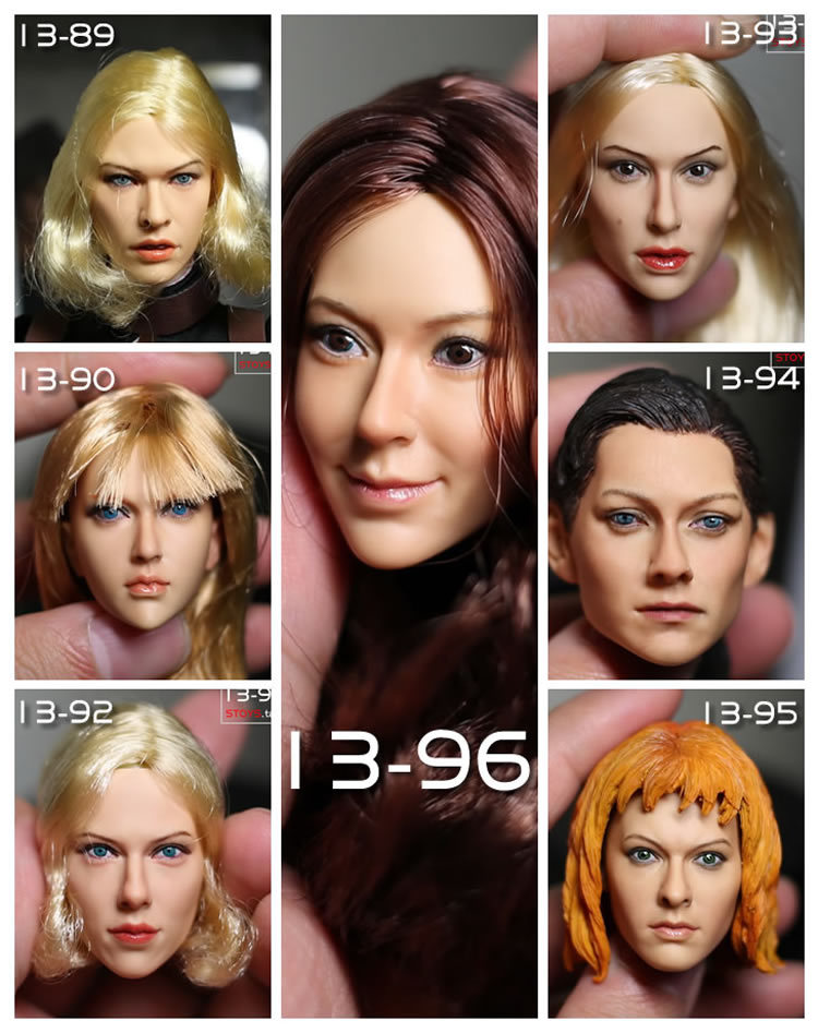 kumik 1/6 Scale doll head Beautiful woman headsculpt ,,DIY Accessories for 12inch doll, doll and clothes are not include healthy and beautiful from head to toe