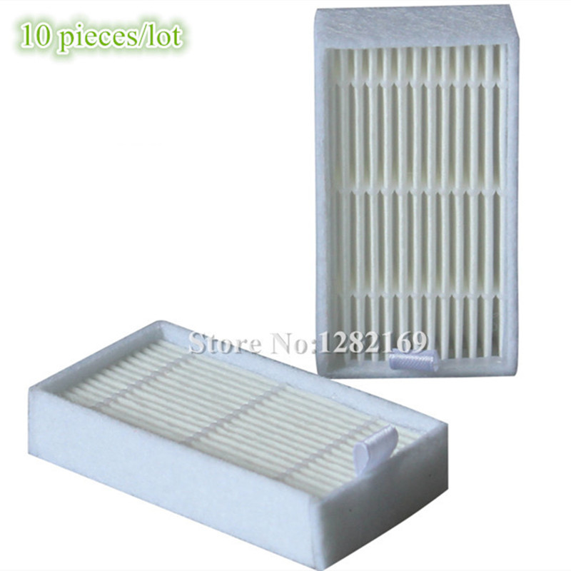 10 Pieces/lot Robot Vacuum Cleaner HEPA Filter for Panda x500 robot vacuum cleaner hepa filter for lg vr65710 vr6260lvm vr6270lvm robotisc cleaner