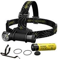 2019 NITECORE HC30 CREE XM L2 U2 1000 Lumen Headlamp +18650 Rechargeable Battery Waterproof Flashlight Hunting Camp Search Torch
