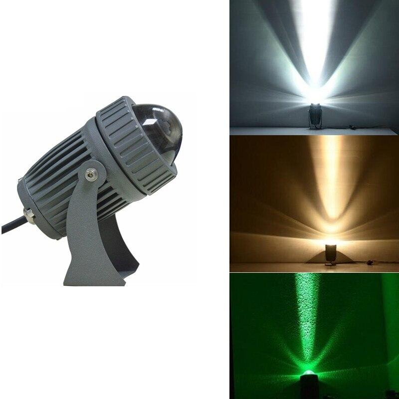 Led Lawn Light 10W Six Color Waterproof IP65 Led Garden Light Decoration Lighting Outdoors Beam Spotlight Wall Washing Lamp