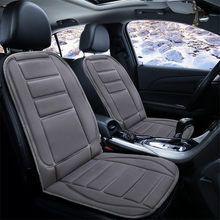 цены на 1Pcs Universal Car Electric Heated Cushion Auto Supplies Heated Pad Winter Thermal Seat pad Interface 12V Car Heating Seat Cover  в интернет-магазинах