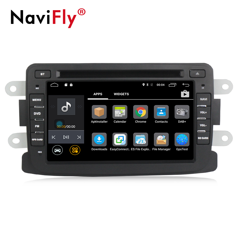 EU steuer freies! Beste Android7.1 auto dvd radio player für Dacia Duster Logan Sandero stereo mit GPS Navigation 4G WIFI BT RDS - 4