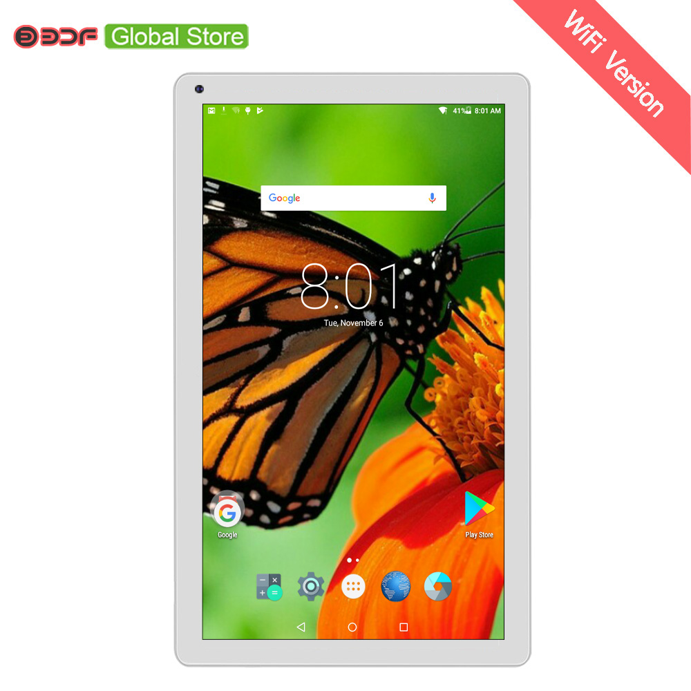 BDF 10.1 Inch Tablet Pc Android 5.1 Quad Core 1GB RAM 32GB ROM Dual Camera WiFi Tablet Google Play Store Mini Computer Tablet 10