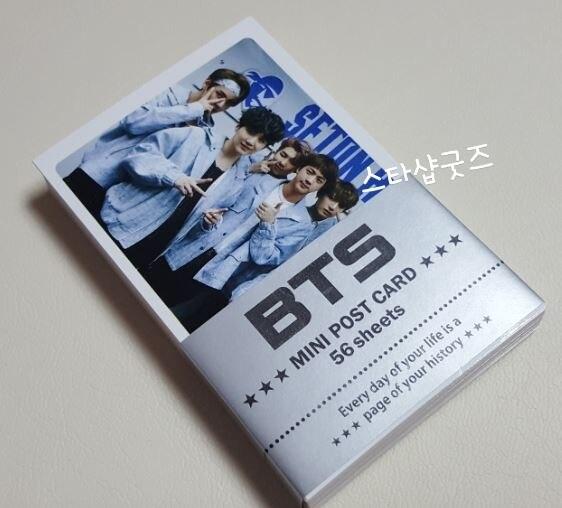 samsung bts 1454b BTS Mini Postcard Set - 56sheets - [UnOfficial]   BTS All Member Version