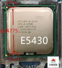 Lntel xeon e5430 e5430 2.66ghz/12m/1333mhz/cpu igual a lga775 core 2 quad q9300 cpu, sem adaptador de necessidade, funciona na placa principal lga775