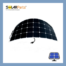 Solarparts 1pcs 100W PV solar panels mono solar panels for solar charger battery lights fishing boat