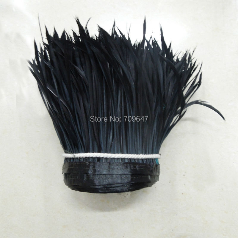 2 yards Guinea Fowl Feather Fringe Trim Millinery Hat Fascinator Art Craft