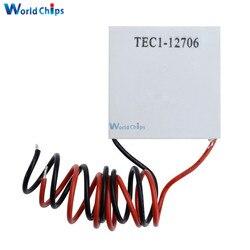 TEC1-12706 12706 TEC بلتييه مبرد حراري كهربائي 12 فولت جديد من أشباه الموصلات التبريد TEC112706 وحدة لوحة المبرد