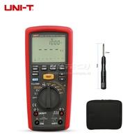 UNI T UT505B Megohmmeter Digital Handheld True RMS Megger Insulation Low Resistance Meter Multimeter Freq Fuse Seltf RCD Leakage
