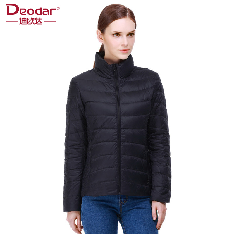Deodar Fashion Winter Ultra Light   Down   Jacket 90% Duck   Down   Jackets Long Warm Slim   Coat   Winter Jacket Women Parka DX6101