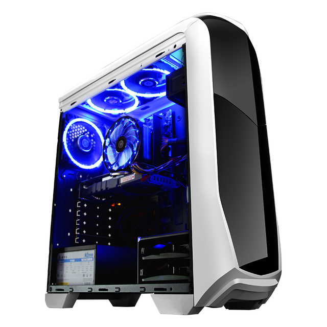 GETWORTH R12 DIY Desktop Gaming Intel I5 7400 120G SSD 400W GTX GeForce1060 Gigabyte B250M Gaming Computer PC Wide Range