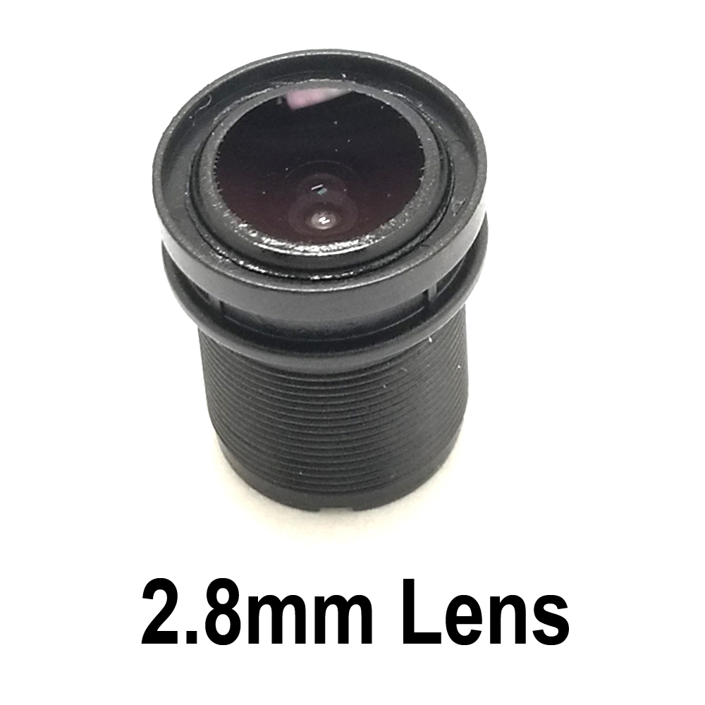 Mini <font><b>2.8mm</b></font> Lens CCTV Security Camera Lens <font><b>M12</b></font> 2MP 1/2.7 Image Format Surveillance image