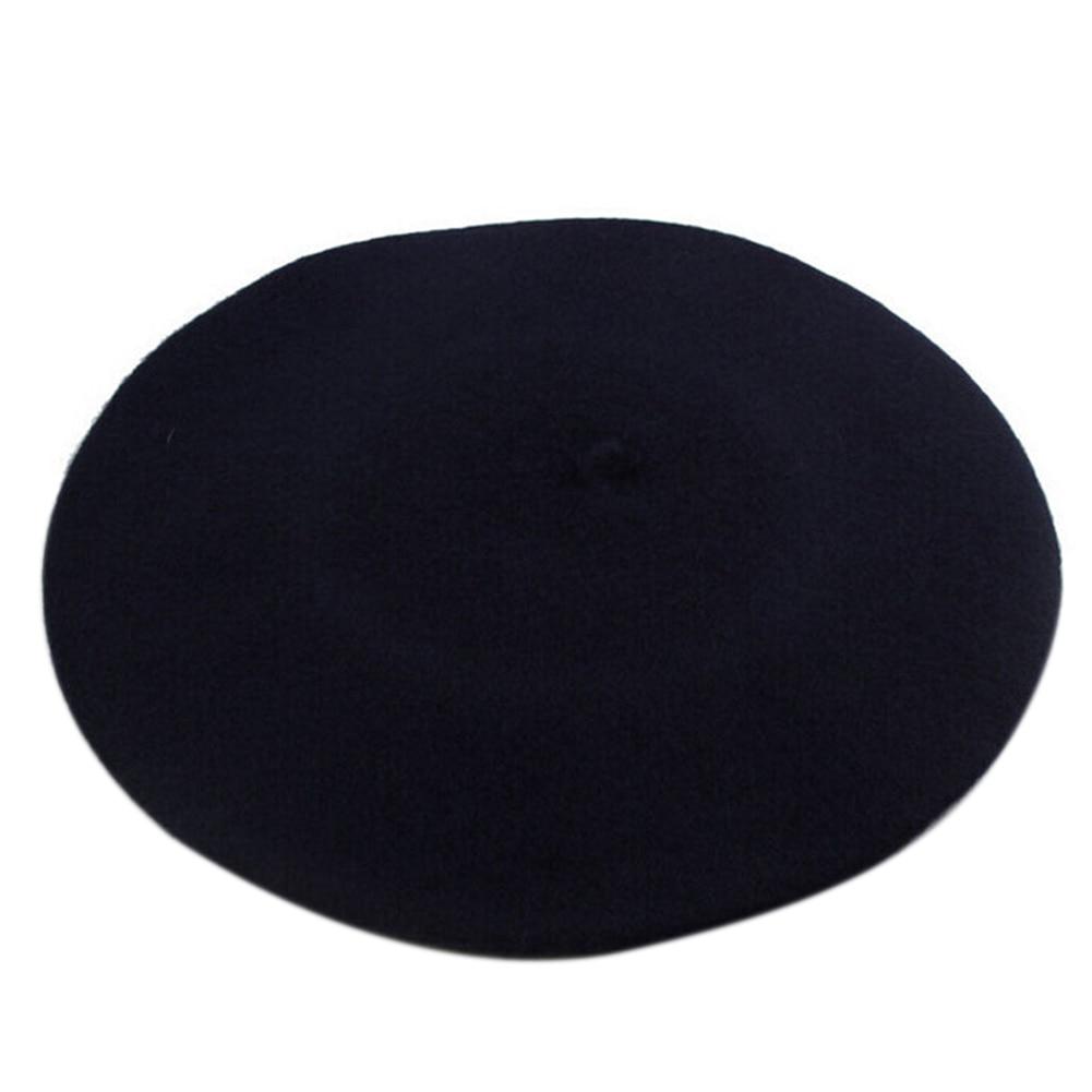 Новинка, женская зимняя шапка, берет, женская шапка из смеси шерсти и хлопка, 16 цветов, новые женские шляпы, шапка s, черная, белая, серая, розовая, Boinas De Mujer