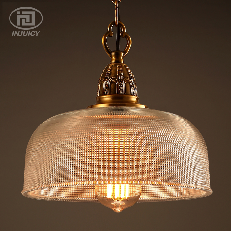 Loft Vintage Industrial Ceiling Light Fixtures Copper Glass Shade Pendant Lamp Restaurant Cafe Bar Store Dining Room Lighting nordic american edison bulb loft industrial glass stone point ceiling lamp vintage pendant lights cafe bar dining room light