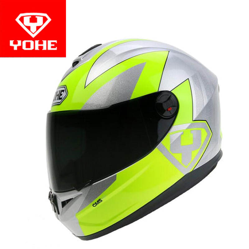 2017 New YOHE Full Face motorcycle helmet ABS YH-966 motorbike helmets winter warm four season for men women with scarf 2017 new yohe half face motorcycle helmet yh 868 abs motorbike helmet double lens electric bicycle helmets for four seasons