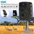 Free shipping!BOBLOV CT007 8GB 12MP Hunting Camera Trail Scouting Wildlife IR 34 LEDs + 6V Solar Battery