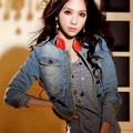 2015 Spring and Autumn New Women's Stand Collar Retro Blue Denim Outerwear Slim Short Jacket Sexy Denim Tops 9252 Free Shipping