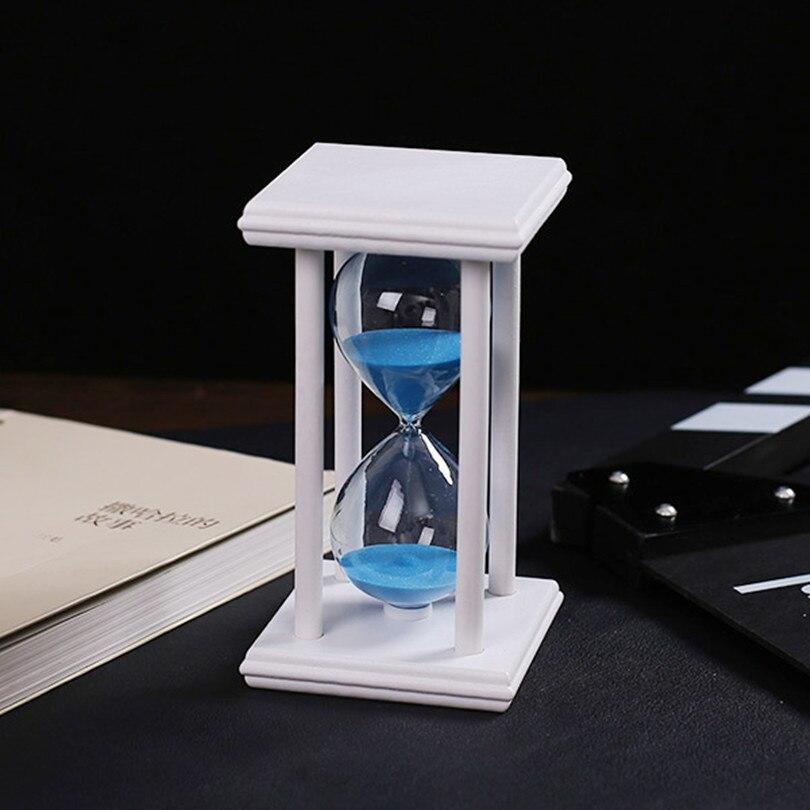 30 minutos de cristal transparente arena reloj de arena temporizador - Decoración del hogar - foto 6