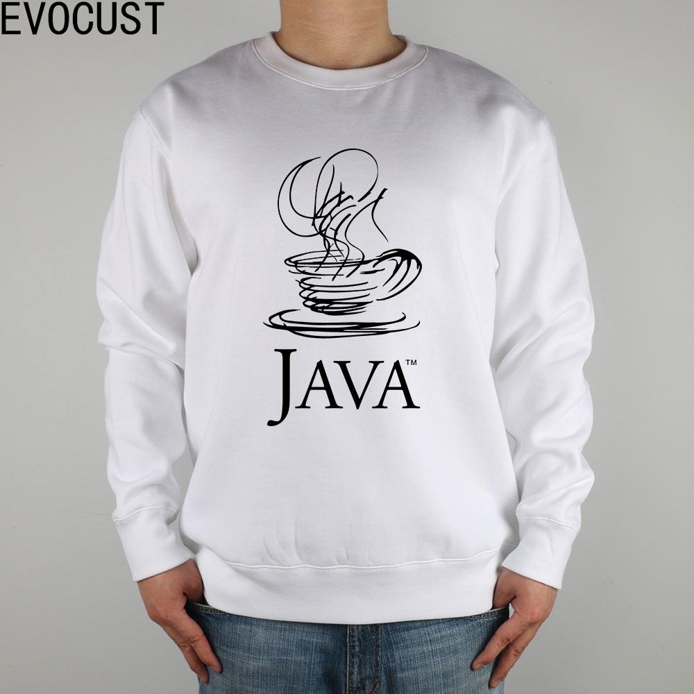 Logo blanc Il Peigné Java Hommes Coton Argent Shirts Programmeurs Épais ESFqU