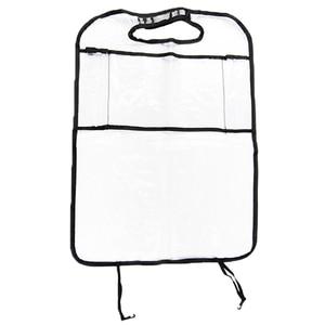 Image 3 - Car Back Seat Organizer Car Multi Pocket Back Seat Storage Bag Organizer Phone Pocket Pouch for Book Tablet Mobile Drinks Tissue
