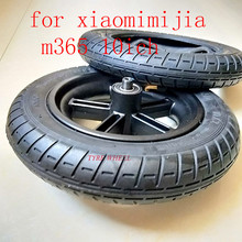 2019 Scooter Tyres Rear Wheel Hub For Xiaomi Mijia M365 8.5 Inch Damping Solid Tyres Hollow Non-Pneumatic Tires Original Factory xiaomi mijia m365 electric scooter skateboard damping solid tyres with wheels hub hollow non pneumatic tires for rear wheel