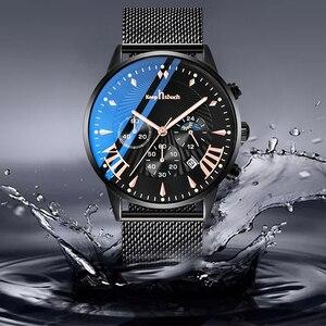 Image 4 - KEEP IN TOUCH relojes para Hombre, de cuarzo, informal, resistente al agua, deportivo, con fecha, Masculino