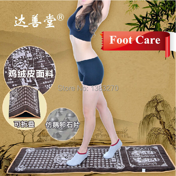 Healthy foot massage cushion foot massage mat Gravel road pressure points foot massage blanket цены