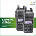 2PCS Walkie Talkie BAOFENG UV-82 New Version UV-82plus Dual Band VHF UHF 136-174/400-520MHz 2-Way Radio+Double PTT Headset