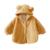 Bebé recién nacido Ropa de Abrigo de Invierno Bebé Capa Para El Invierno Al Aire Libre Sudadera Con Capucha Chaqueta de Los Muchachos de la Capa Caliente Outwear la Ropa