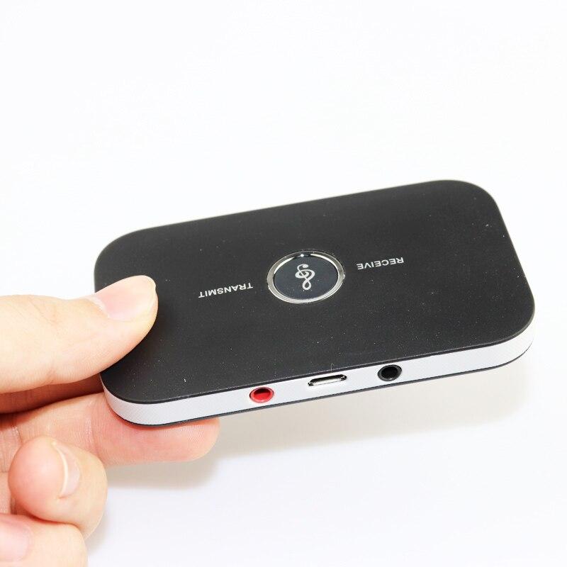 2 em 1 receptor transmissor de áudio sem fio bluetooth 4.0 de alta fidelidade a2dp aux 3.5mm adaptador música para tablet alto-falante tv smart pc mp3