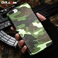 Dr. caso patrón de camuflaje del ejército para iphone 7 7 plus ultra delgada de la pu caso cubierta de la capa para apple iphone 7 accesorios de acrílico